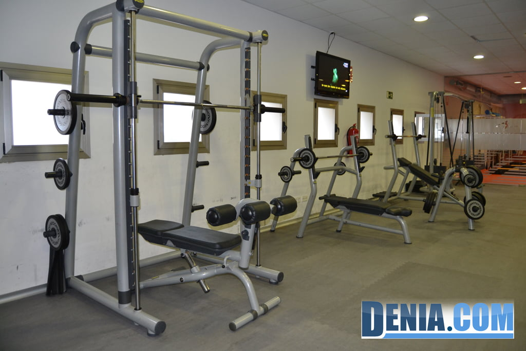 Centre Esportiu Dénia - Sala de màquines