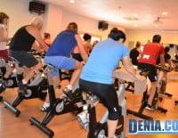 Centro deportivo Dénia - Clase de spinnin
