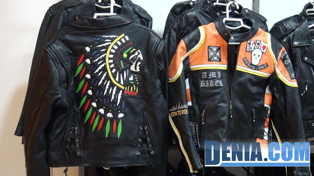 Cazadoras de cuero moto custom