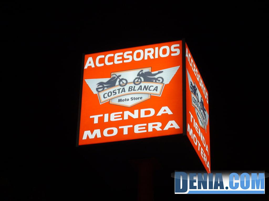 Costa Blanca Moto Store, tienda motera en Dénia