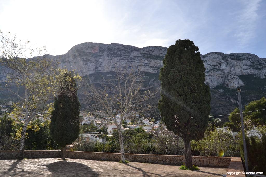 El Montgó desde la Ermita de San Juan