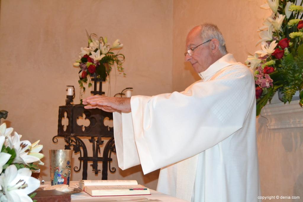 Misa en el ermita de San Juan
