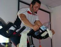 Profesor de spinnin del Centro Deportivo Dénia