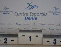 Pódium de ganadores - Centro Deportivo Dénia
