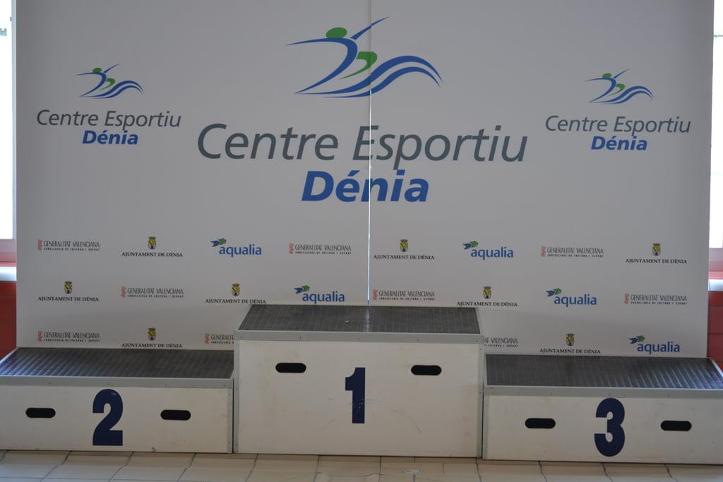 Pòdium de guanyadors - Centre Esportiu Dénia