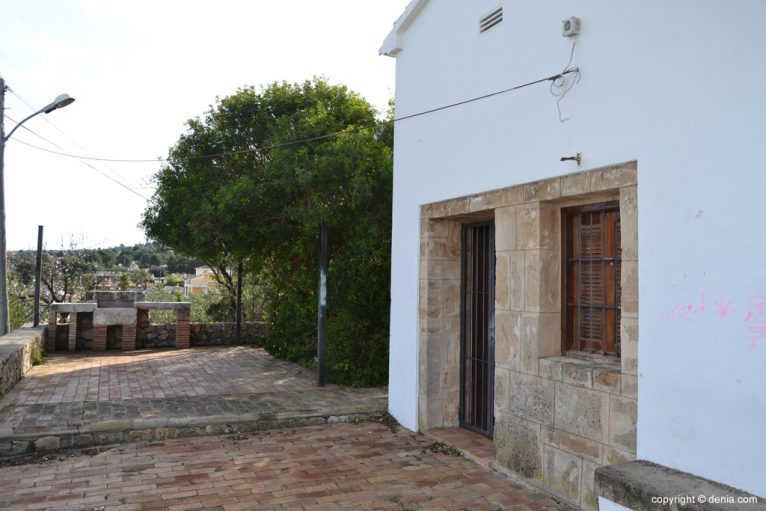 Parte trasera de la ermita de San Juan de Dénia