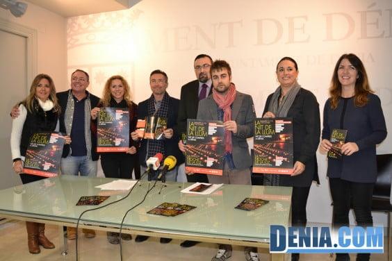 Présentation de la Nuit de Lumière 2013 à Dénia