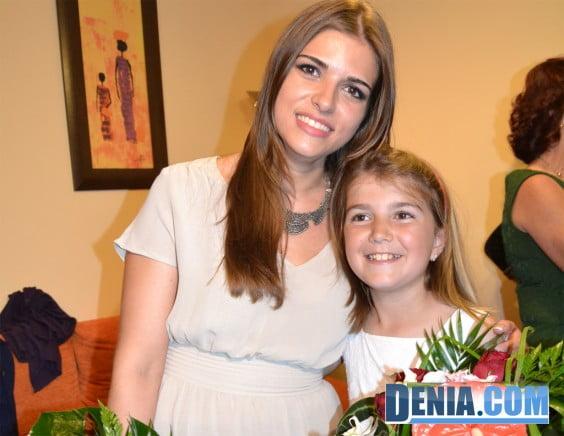 Sara Femenía et Paloma Mengual Falleras Denia Plus 2014