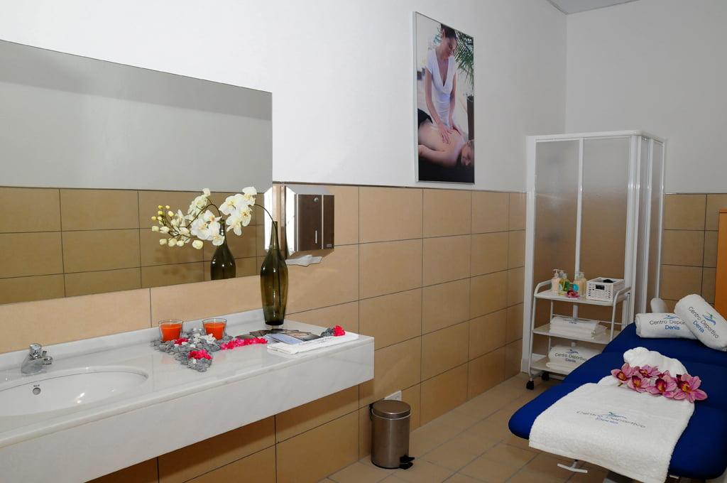 Spa i sala de massatges - Centre Esportiu Dénia