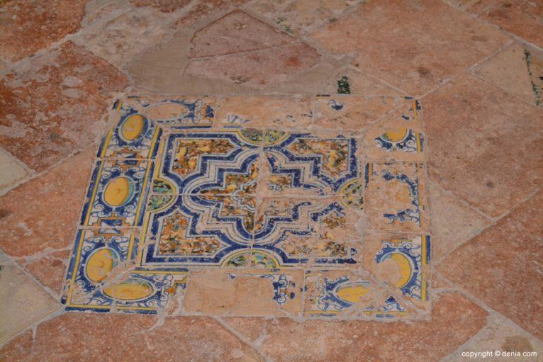Suelo original de la ermita de San juan