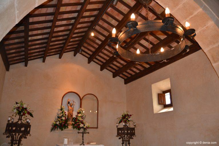 Techo de la ermita de San Juan