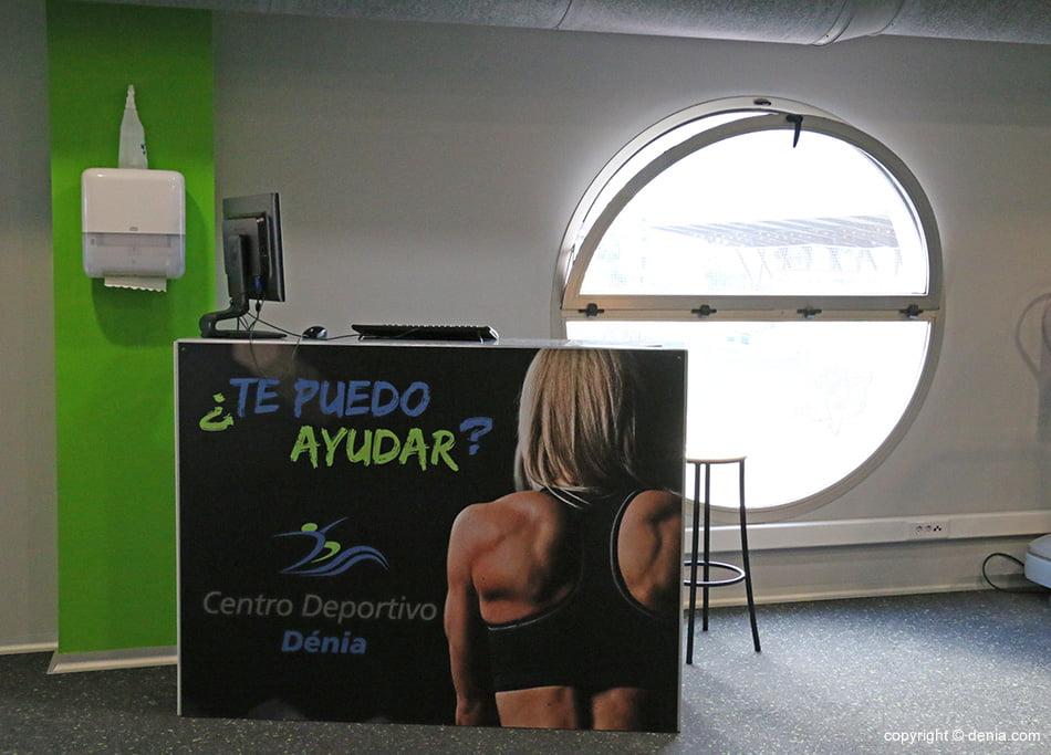 Informació gimnàs Centre Esportiu Dénia