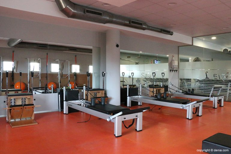 Pilates màquines Centre Esportiu Dénia