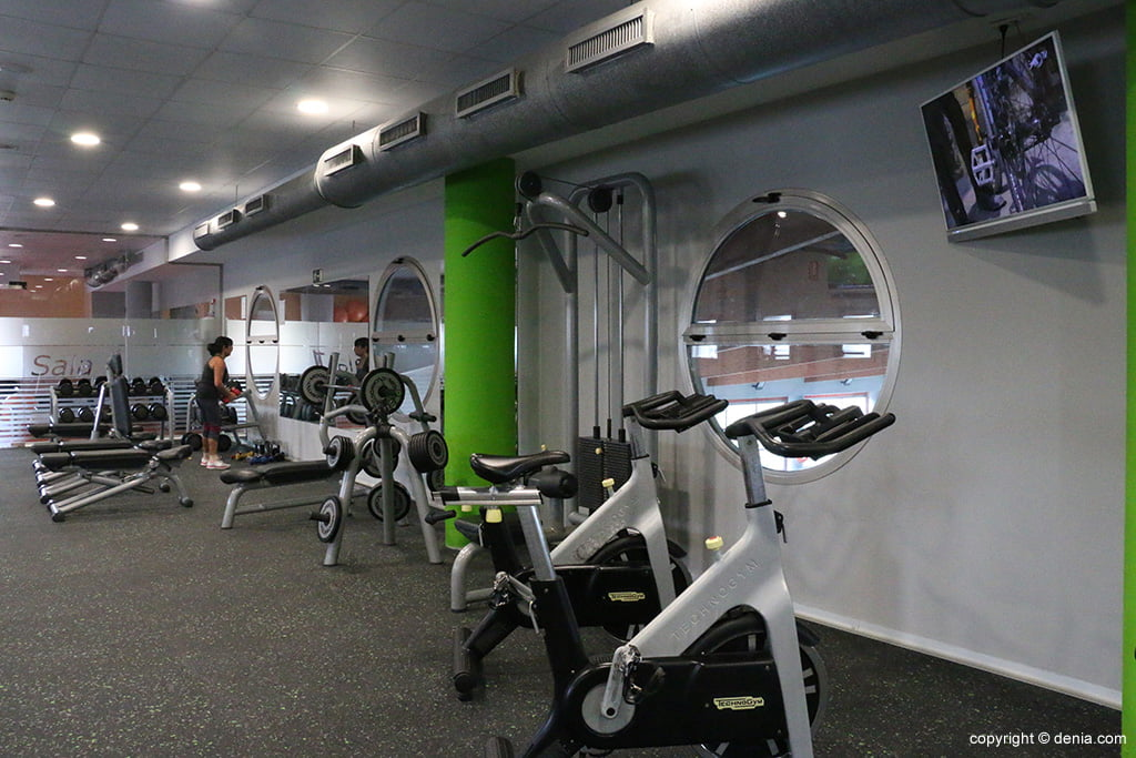 Sala màquines Centre Esportiu Dénia