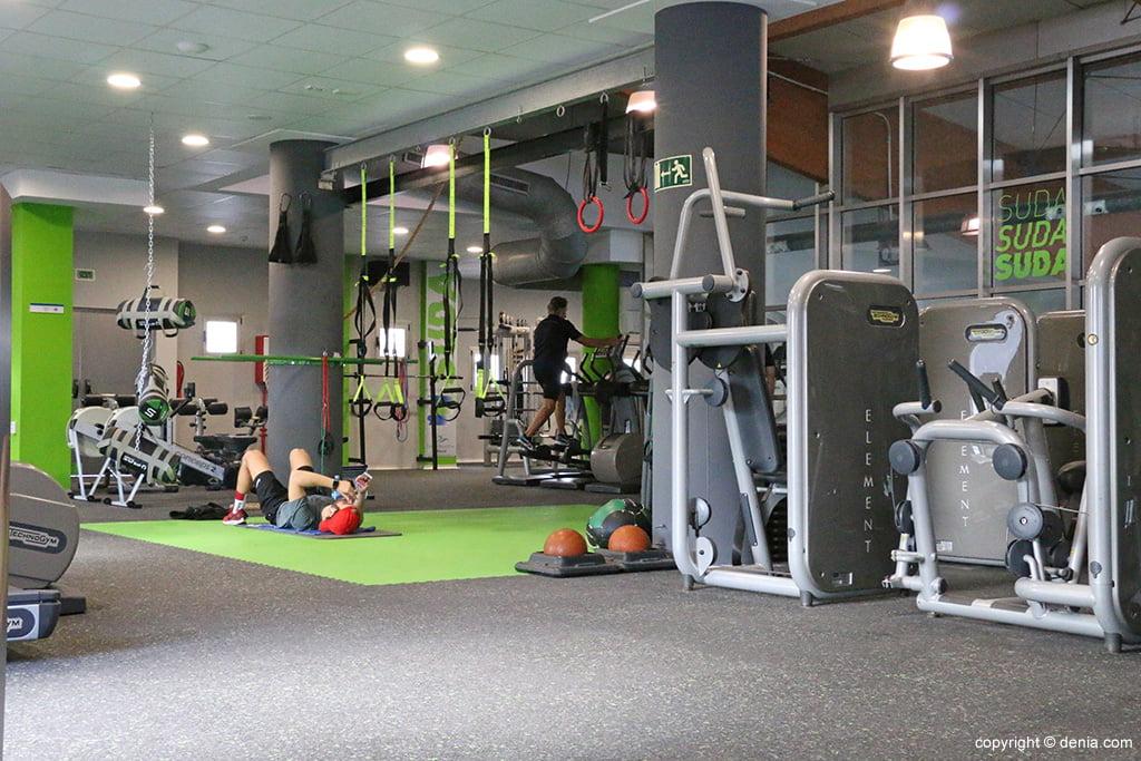 Sòl gimnàs Centre Esportiu Dénia