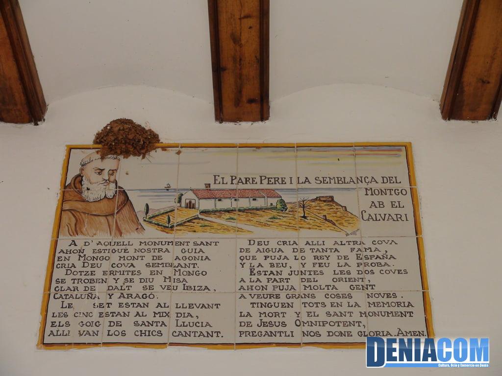 El Pare Pere y el parecido del Montgó con el calvario