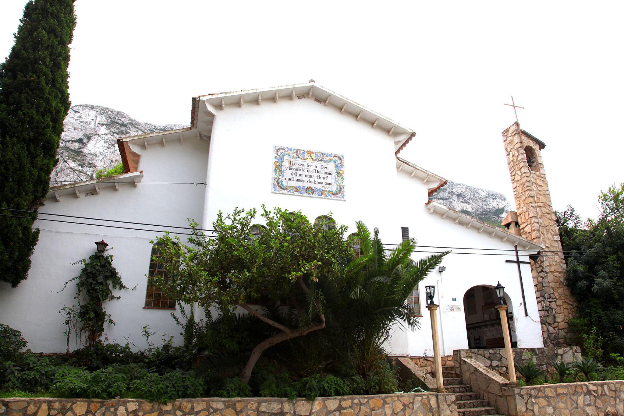Exterior de la Ermita del Pare Pere de Dénia (Foto: Tino Calvo)