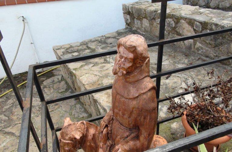 Figura del Pare Pere en burro