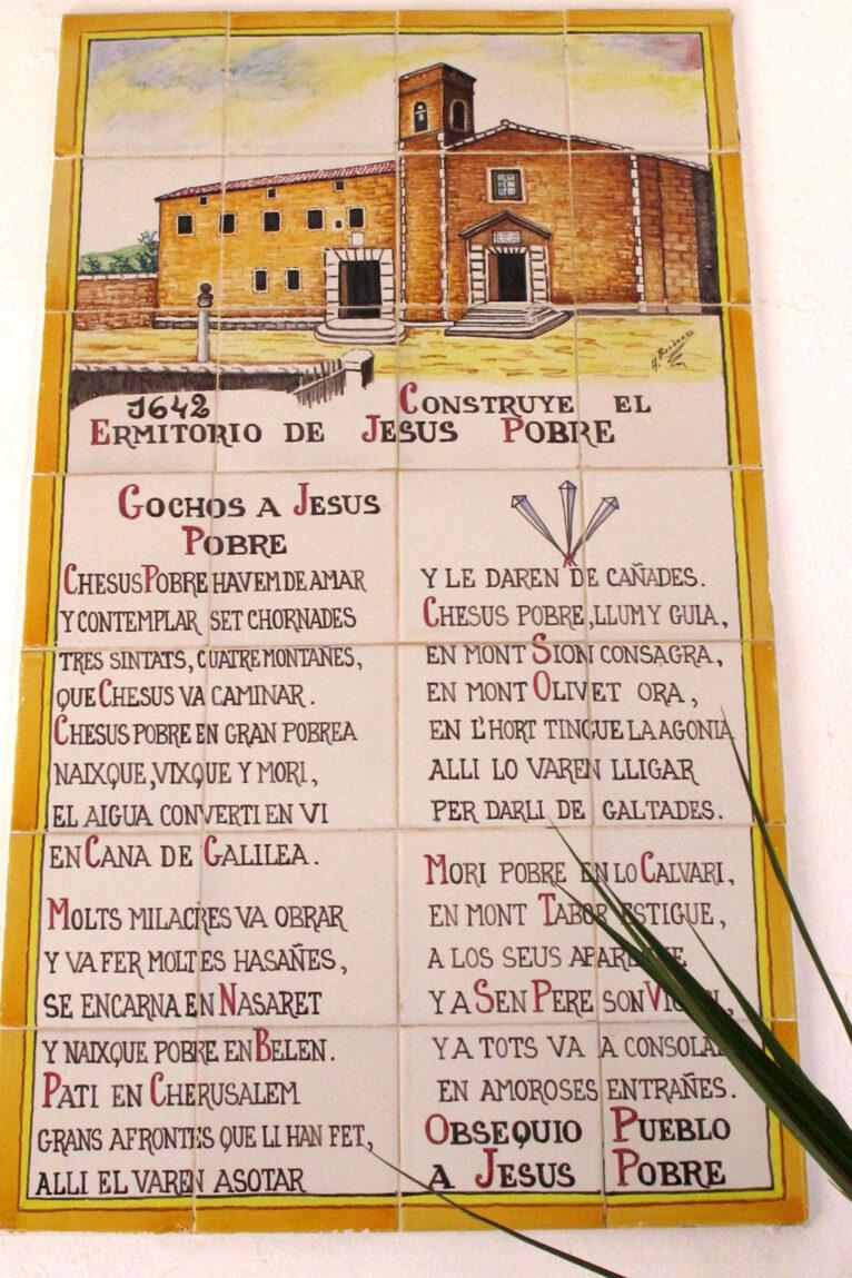 Gochos a Jesus Pobre en la Ermita del Pare Pere