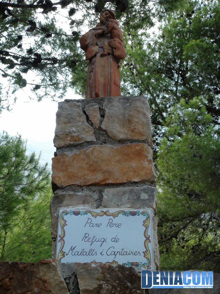Homenaje al Pare Pere en la Ermita