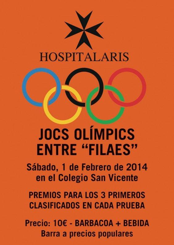 Jocs Olimpics entre filaes