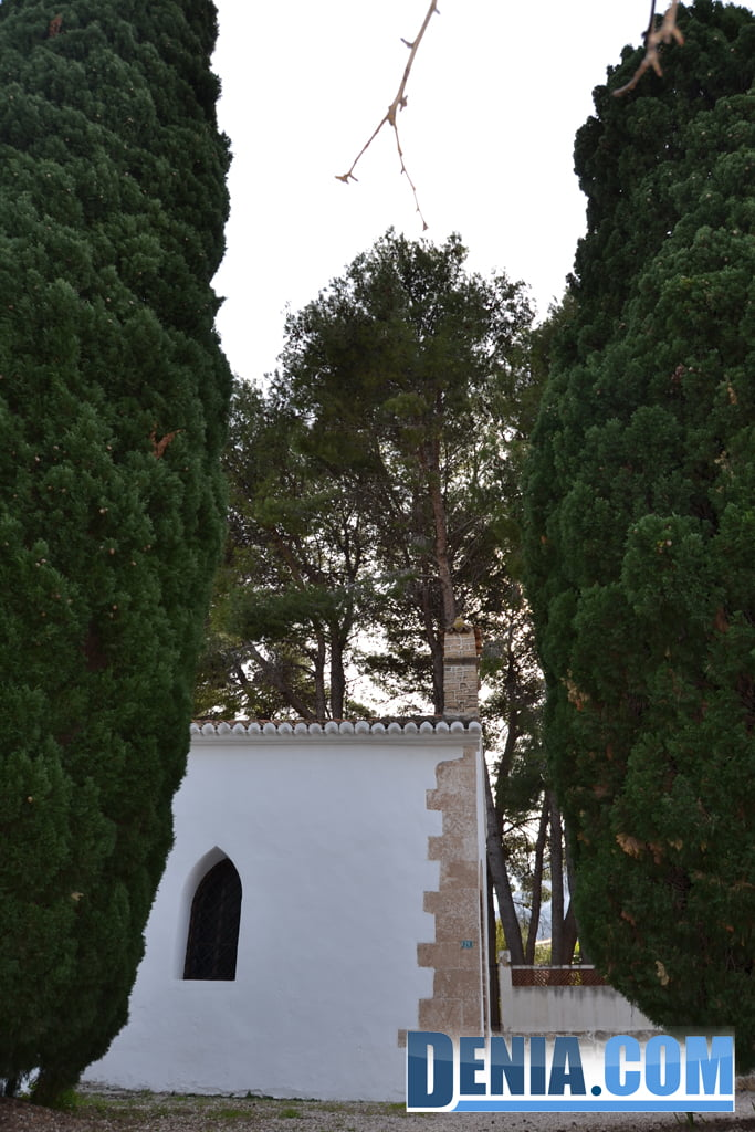 Llegada a la ermita de Santa Lucía