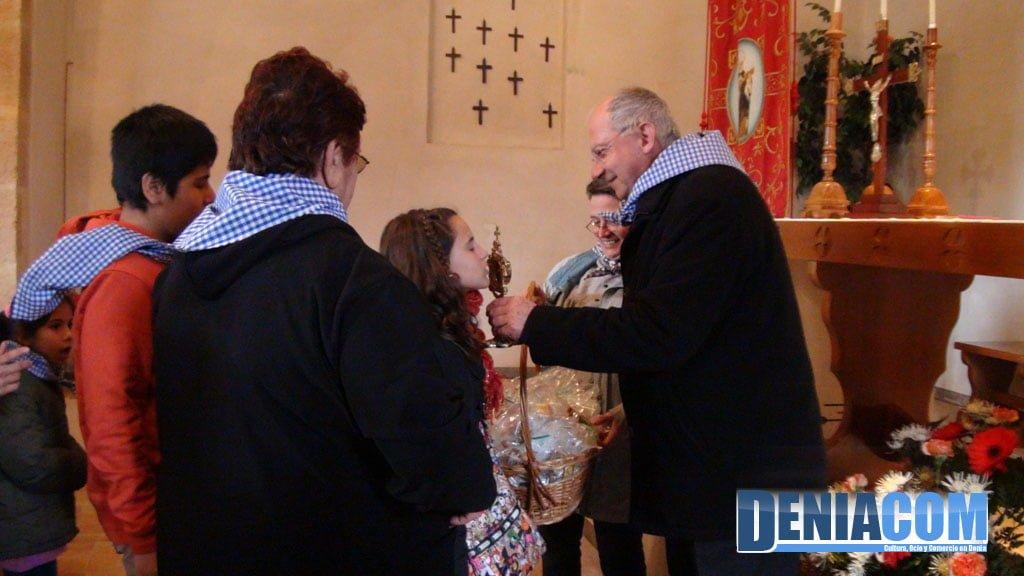 Misa en la ermita de Santa Paula