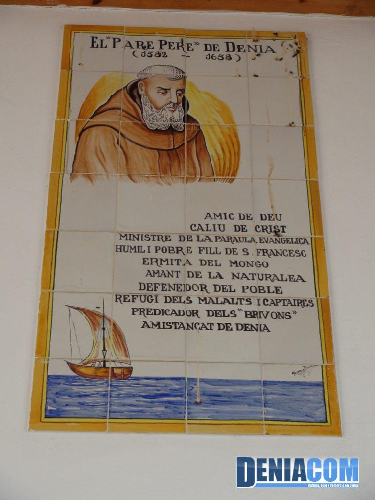Palabras al Pare Pere en la Ermita