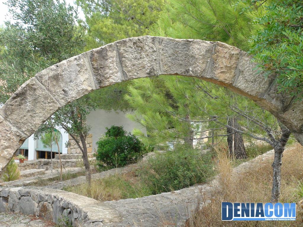 Parte posterior del Portal de Belén del Via Crucis de la Ermita del Pare Pere