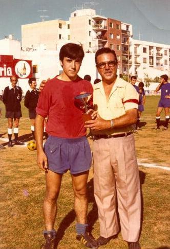 Pedro Perles y su hijo