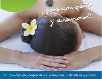 Promoción especial Spa y masaje San Valentín Dénia