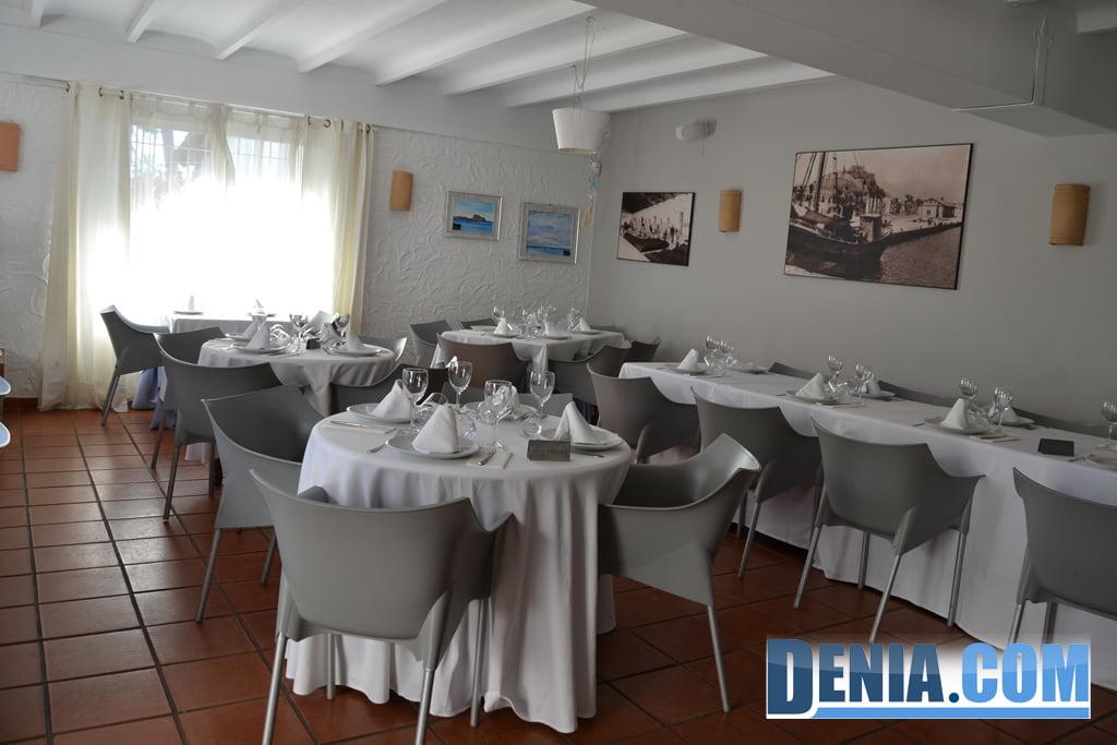 Restaurant Voramar - Salle