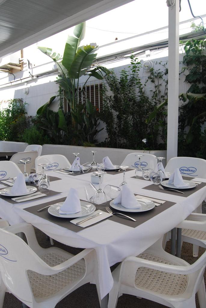 Restaurant Voramar - Terrasse