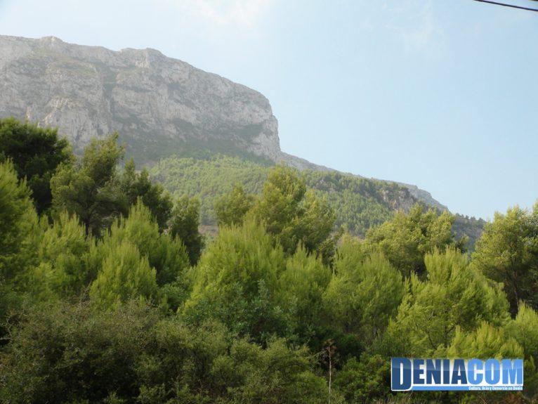 Vistas del Montgó desde el Pare Pere