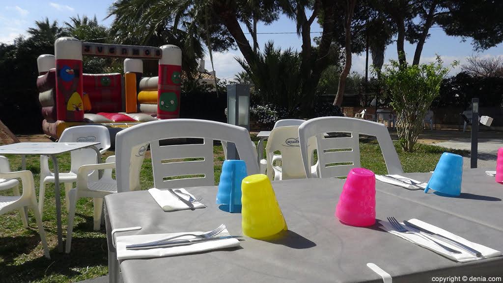 Table Restaurant Voramar pour enfants