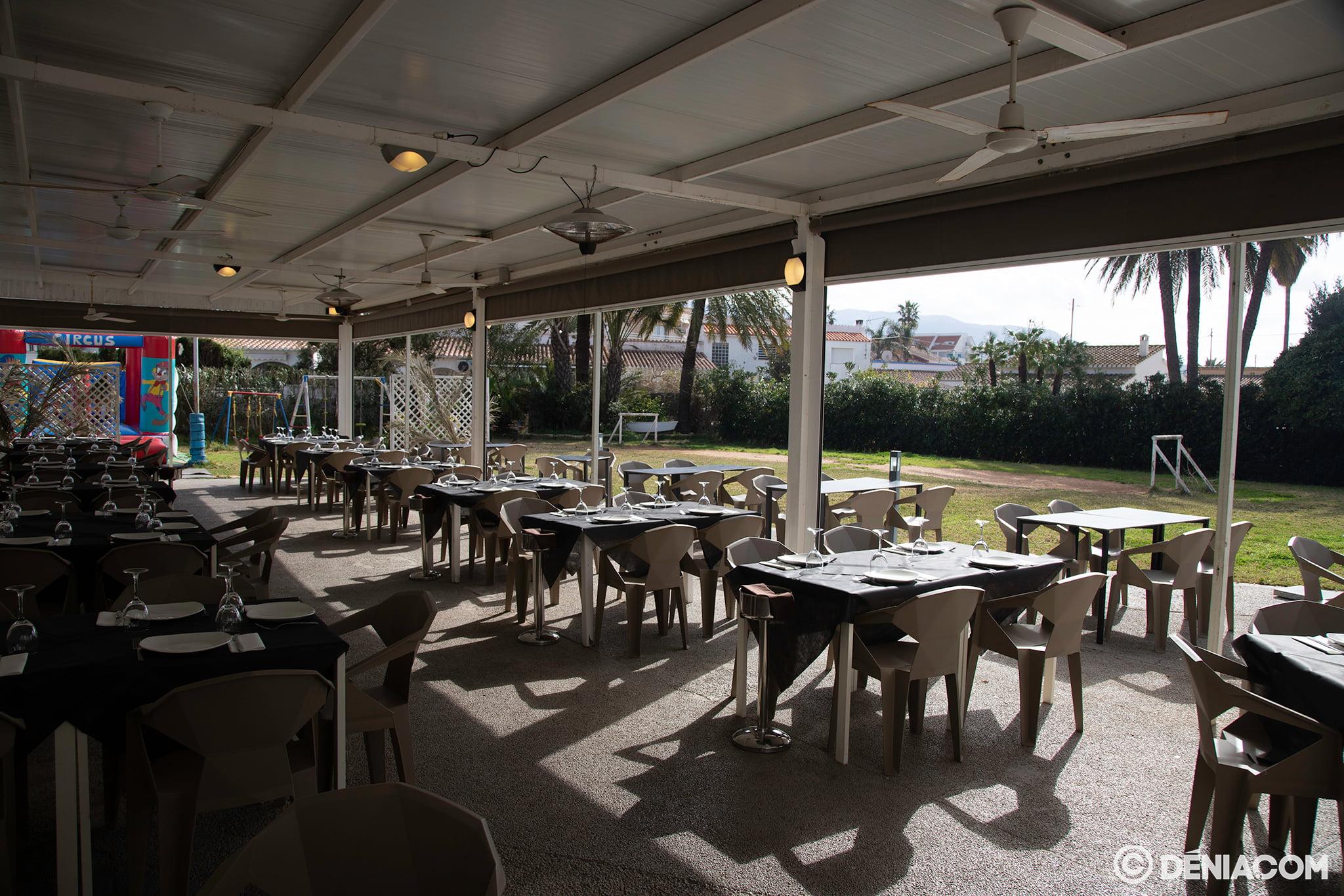 Restaurant avec terrasse Dénia - Voramar Restaurant