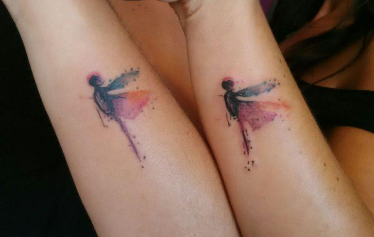 Tatuatges a Dénia - As Meigas Tattoo & Piercing - libèl·lules