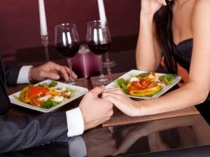Cena romántica en restaurante Isla Tortuga de Dénia