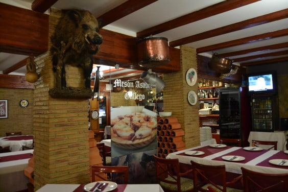 cena de San Valentín especial Mesón Asador Gallego Dénia