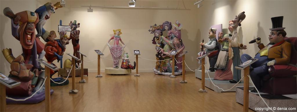 Exposición del Ninot 2013 en Dénia