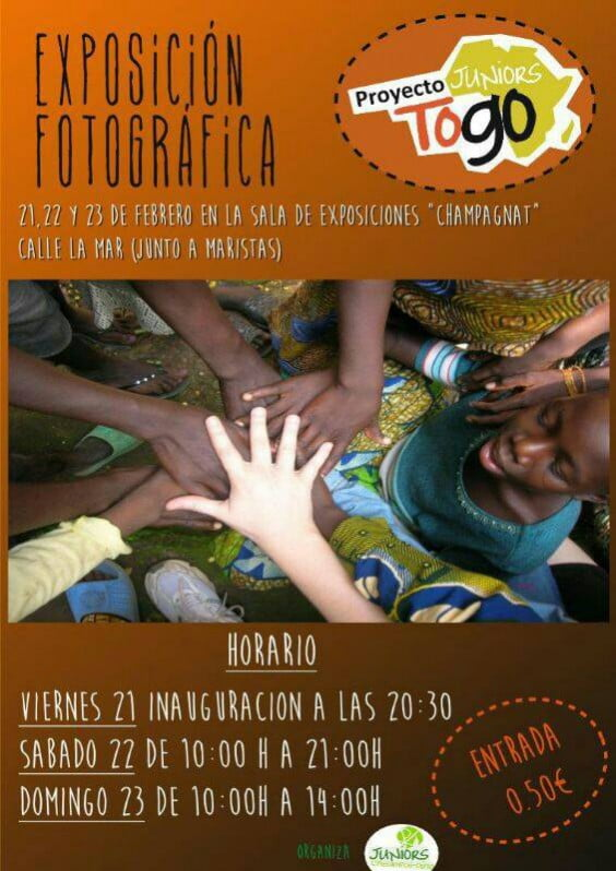 Togo Project photographic exhibition Juniors