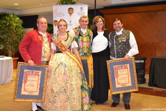 Vicnet Ivars, Sara Femenía, Jaume Bertomeu, Ana Kringe and José Vicente Benavente
