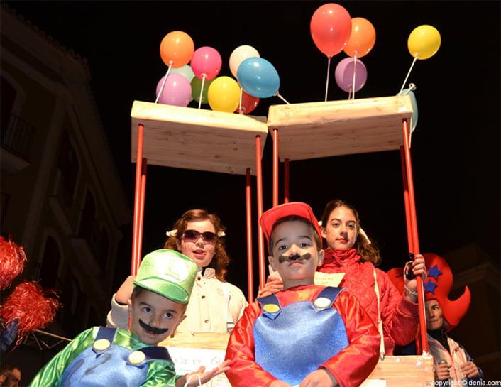 Carnaval parti Dénia