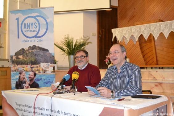 Die Evangelische Kirche erfüllt 100 Jahre in Dénia