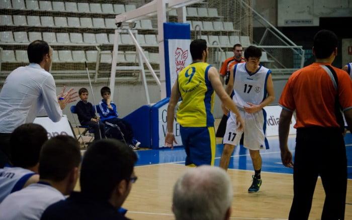 Basketball Dénia fiel deutlich an den Führer Lucentum Alicante