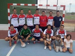 Jorge Llopis es el máximo goleador de la liga comarcal de fútbol sala