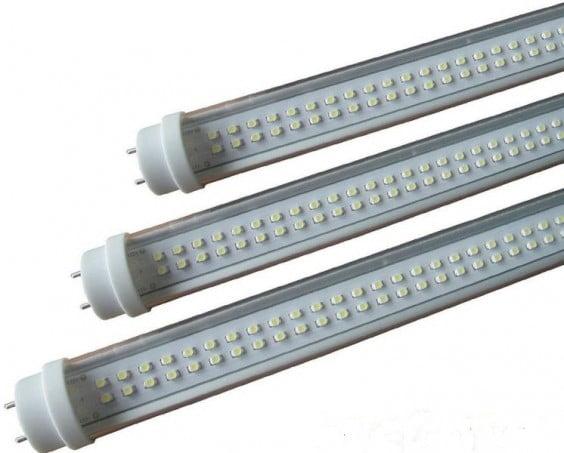 Los tubos led se imponen a los fluorescentes a pesar de su for Sustituir tubo fluorescente por led