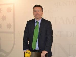 Vicente Chelet - concejal de comercio de Dénia