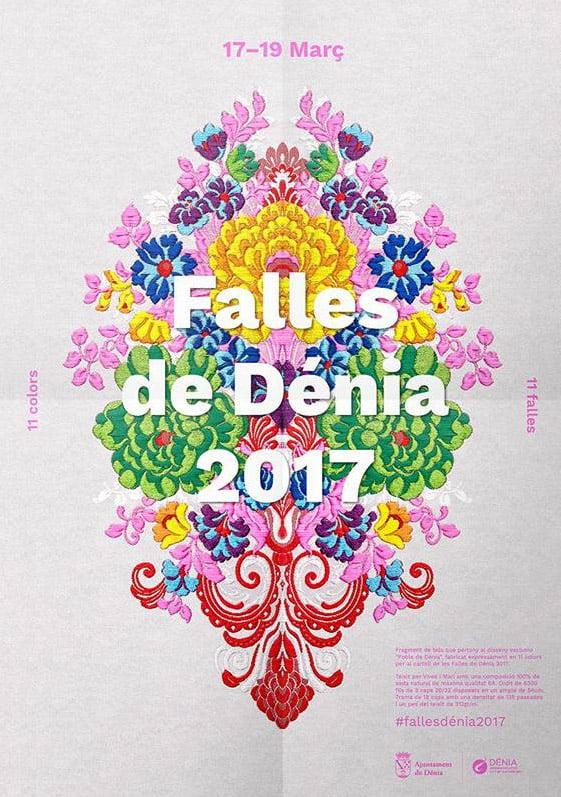 Cartel Fallas Dénia 2017