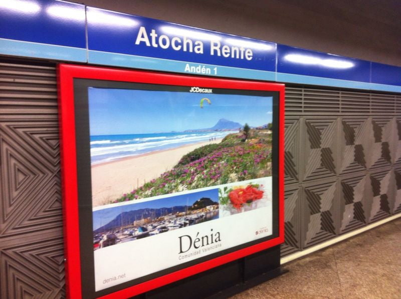 Campaign to promote Dénia in Madrid
